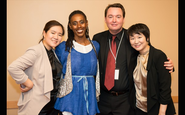 Duo Yoo and Kim with Lenelle Moise and Erik Ochsner
